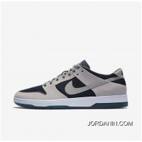NIKE SB ZOOM DUNK LOW ELITE 864345-004 Women Mens Dark Blue/Black/White Grey Cheap To Buy