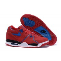 New Nike Air Flight '89 University Red/Game Royal Sports Basketball Shoes For Sale