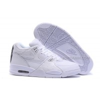 New Nike Air Flight '89 White/White-White Shoes For Sale