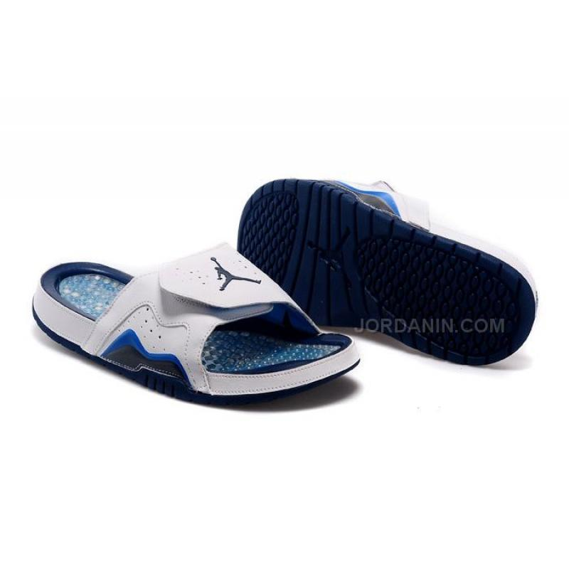 "13e58a31daa050 Buy Cheap Jordan Hydro 7 (VII) Slide Sandals Retro ""French Blue"" New ..."