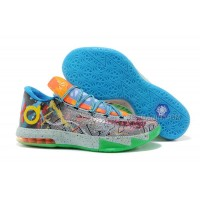 "Nike Kevin Durant KD 6 VI ""What The KD"" For Sale 2014 Free Shipping"