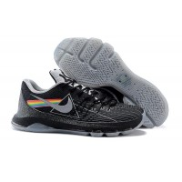 """2015 New KD 8 Shoes """"Dark Side Of The Moon"""" Black Grey Cheap Sale"""