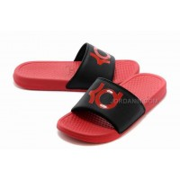 Nike KD Red Black Slippers For Sale New