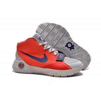 Hot Nike KD Trey 5 III Grey Red Black
