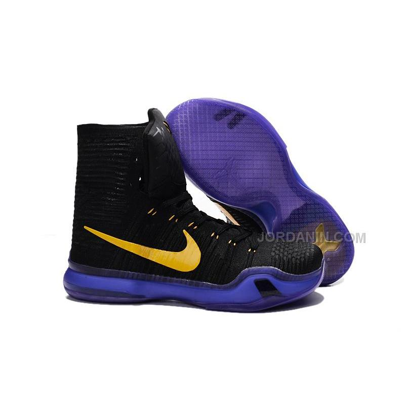 a87d02d19fb USD  78.00. Nike Kobe 10 Elite Lakers Sale ...