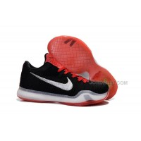 Hot Nike Kobe 10 Elite Black Red
