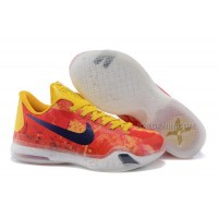 """New Kobe 10 ID """"Sgt. Mamba"""" Yellow/Multi-Color For Sale"""