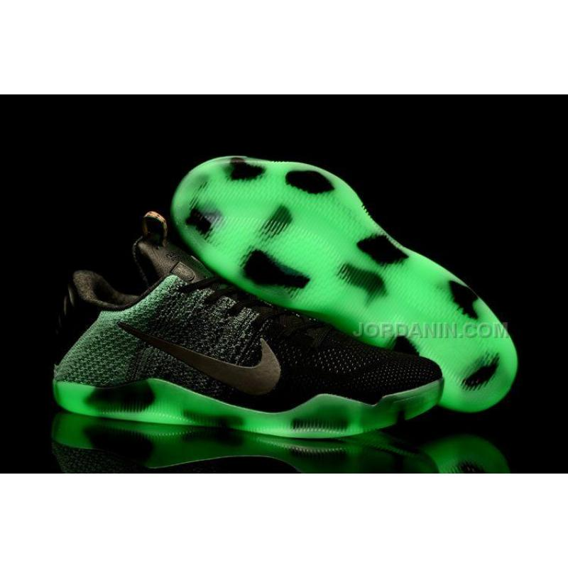 8a07fdca6a8b ... new zealand new nike kobe 11 all star green glow black glow in the  a68d3 0c840