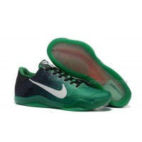 New Nike Kobe 11 Black Green Shoes For Sale Online Outlet