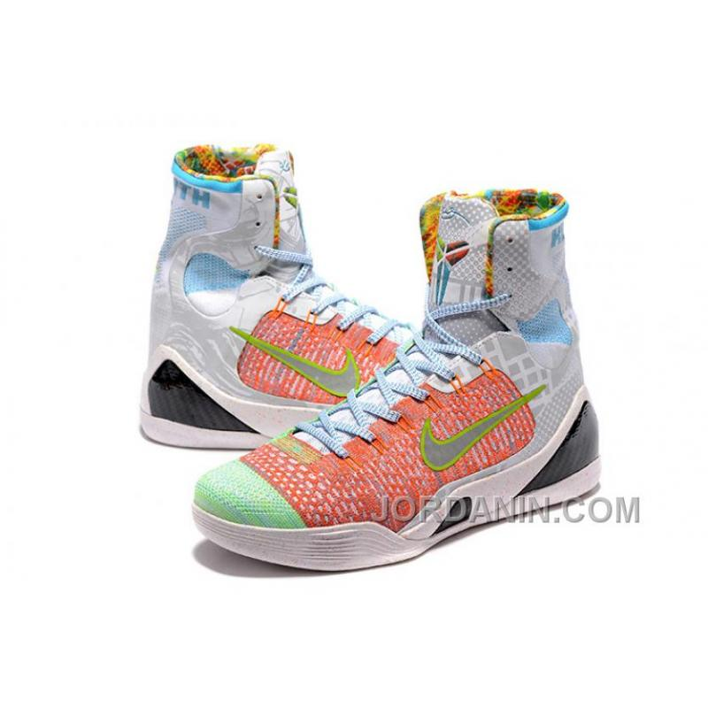 9d215e6c2572 ... spain nike kobe 9 high woven rainbow white men shoes for sale b2465  be4a8 ...