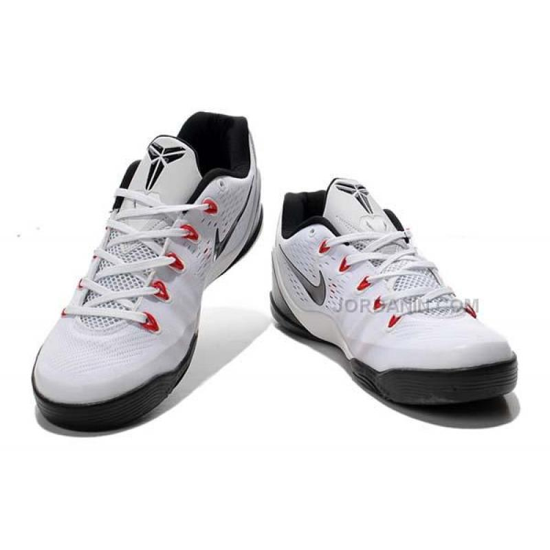 new product b0161 3b063 ... Nike Kobe 9 EM Premium Low White Black Online ...