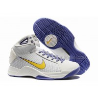 Nike Kobe Olympic Edition IV White/Purple/Yellow Discount