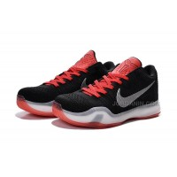 New 2015 NBA Kobe Air Shoes Knitted With Black Red Color Online Shop