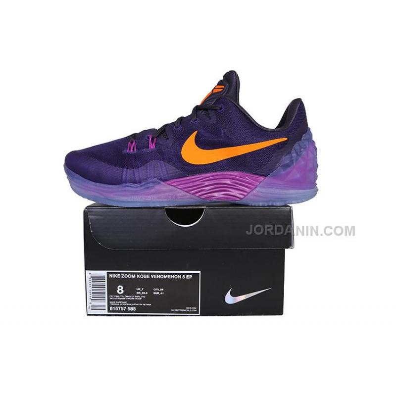 f63654d4d0e21 ... Hot Nike Zoom Kobe Venomenon 5 Purple Orange ...