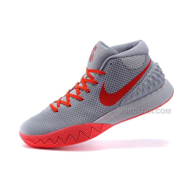 a0d150987c84 USD  75.00. Online Nike Kyrie 1 Grey Red  Online Nike Kyrie 1 Grey Red ...
