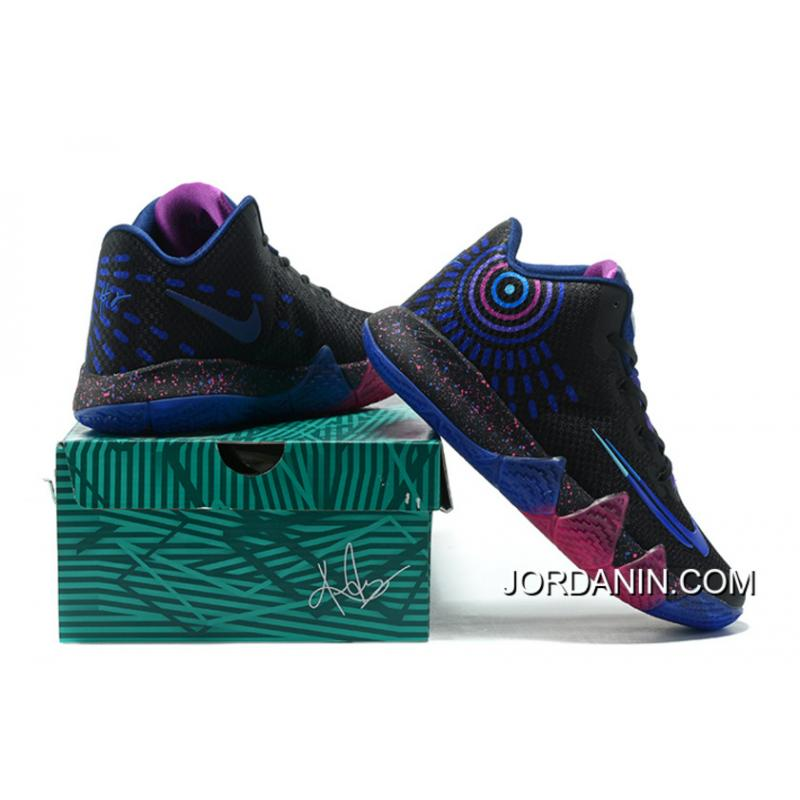 outlet store 97a65 35541 Nike Kyrie 4 Mens Basketball Shoes Drak Blue Best