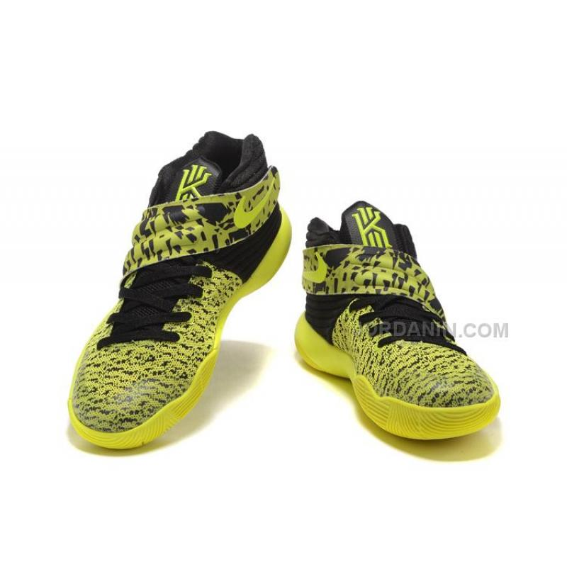 3d63b86b91aa ... Nike Kyrie 2 Yellow Black Sale ...