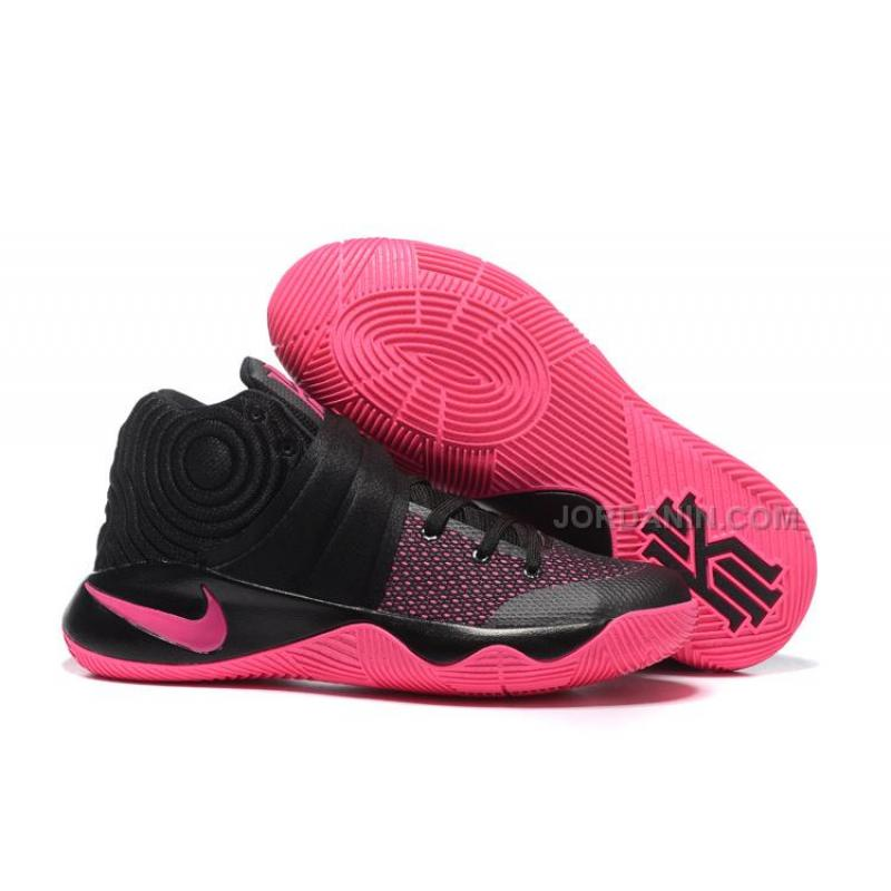 premium selection 01fc7 06fed USD  75.00. Nike Kyrie 2 Black Pink ...