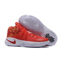 New Nike Kyrie 2 Red White Basketball Shoes