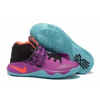 """New Nike Kyrie 2 """"Easter"""" Purple/Mint-Red-Black"""