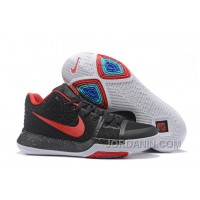 Nike Kyrie 3 Mens BasketBall Shoes Navy Red For Sale EdQJrE