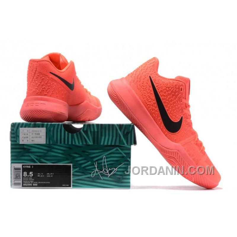 the latest b126d 327e0 ... coupon code for nike kyrie 3 mens basketball shoes all orange christmas  deals yfjhzkf 13637 af70f
