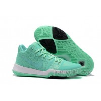 Nike Kyrie 3 Mens BasketBall Shoes Light Green White Top Deals 4B5WiHY