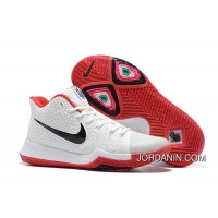 Nike Kyrie 3 White Red Black Best