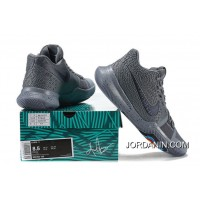 Discount 2017 New Nike Kyrie 3 Cool Grey-Anthracite-Polarized Blue Released