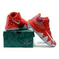 Nike Kyrie 4 Mens Basketball Shoes Red Discount