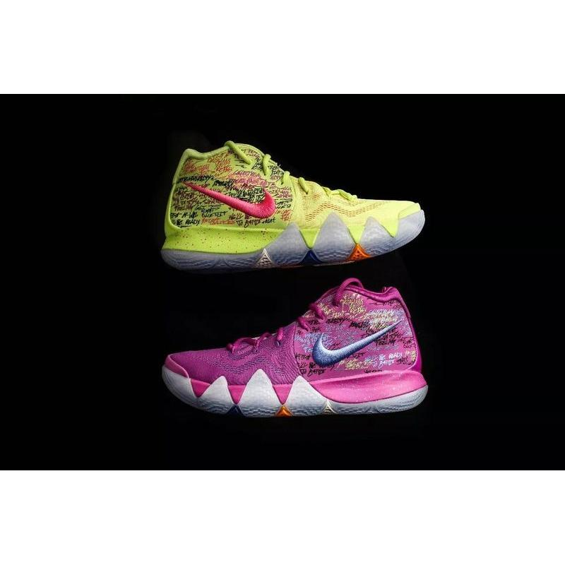 reputable site e34f6 9b807 USD  95.86  306.75. Outlet Irving 4 Kyrie Irving 4 Basketball Shoes Purple  What The Nike 4 Multicolor Size ...