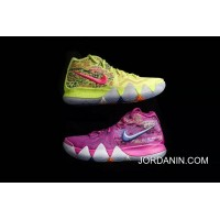 Best 4 Multicolor Nike Kyrie Irving Chip 4 Color Purple What The