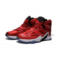 Cheap 2015 Lebron James 13s Shoes Red White Basketball Sneakers Online
