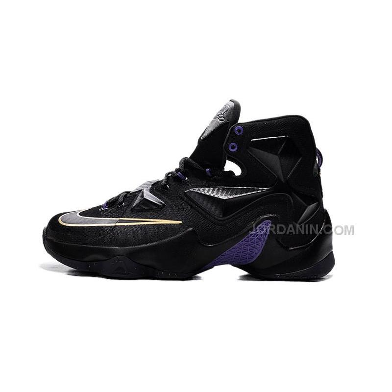 finest selection fd930 c7ccb Cheap Lebron James NBA Shoes 13s 2015 NEW Basketball Shoes Sale Black