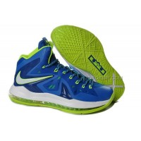 "Nike LeBron 10 P.S. Elite ""Miami"" Blue/Green Online"