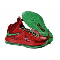 "Nike LeBron 10 P.S. Elite ""Christmas"" Red/Green Online"