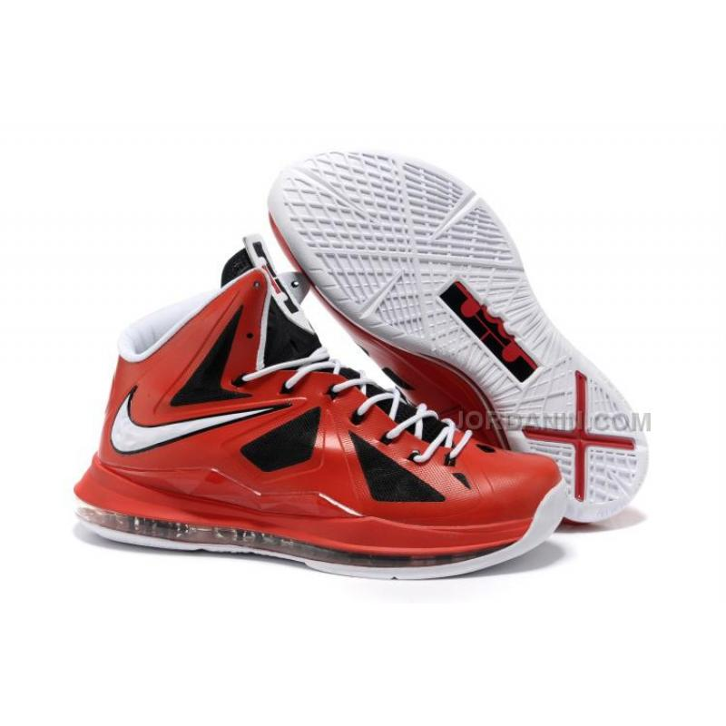 buy popular d949e bfe99 USD  74.00. New Arrival Nike Zoom LeBron 10(X) Red Black  ...