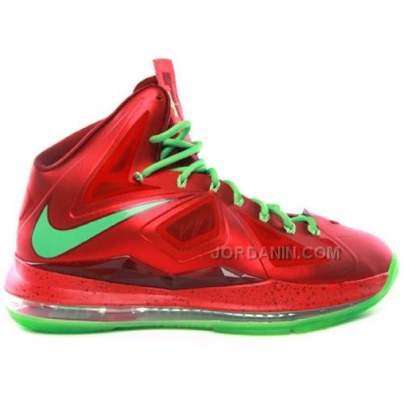 huge discount adc9a 11585 Nike Lebron 10(X) Christmas Shoes Online, Price: $76.00 - New Jordan ...