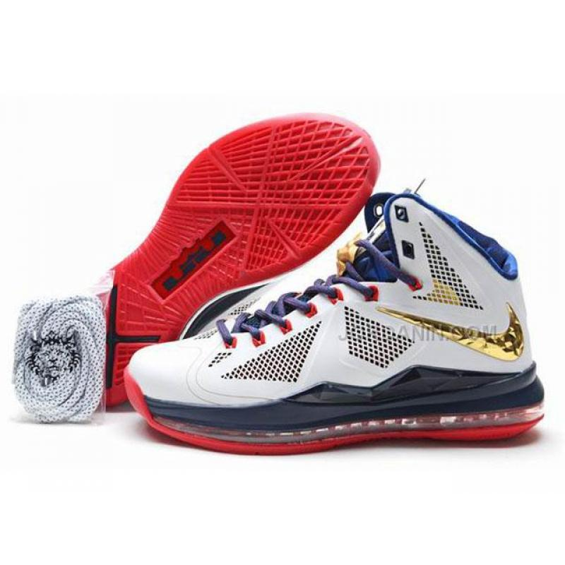 Nike Lebron 10(X) Carving Shoes Gold Medal Discount, Price ... Lebron X Jumpman