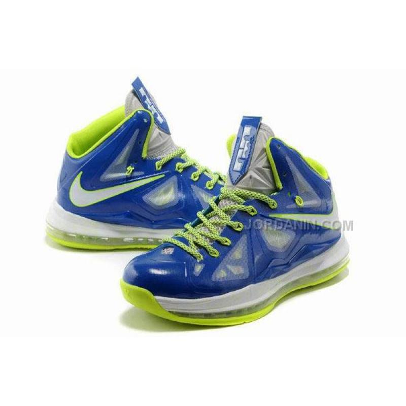 31f12d0a6028 ... Nike Lebron 10 Blue Green White For Sale ...