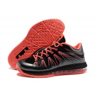 Nike Air Max Lebron X Low Black/Red For Sale