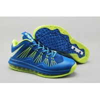 Nike Air Max Lebron X Low Blue/Green New Arrival