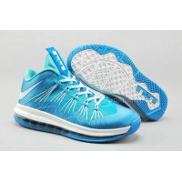 Nike Air Max Lebron X Low Sky/White New Arrival