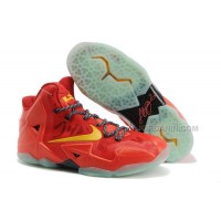 Nike LeBron 11 Team Orange/Tour Yellow For Sale