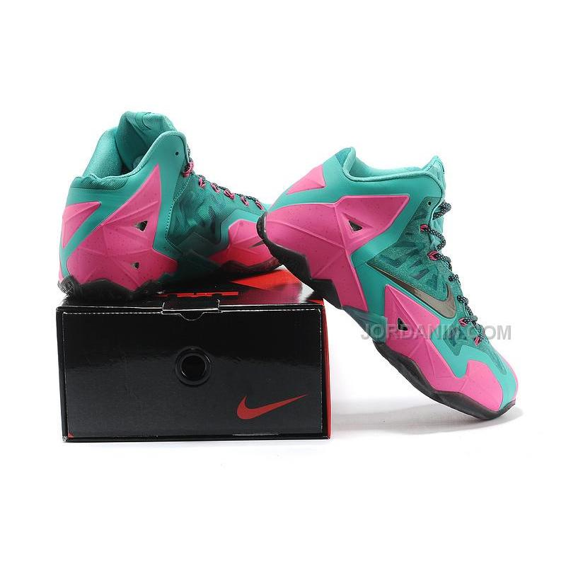 3c370bb476a7 ... Nike LeBron 11 Jade Pink For Sale