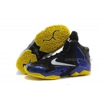 Nike LeBron 11 PS. Elite Black-Purple-Yellow For Sale