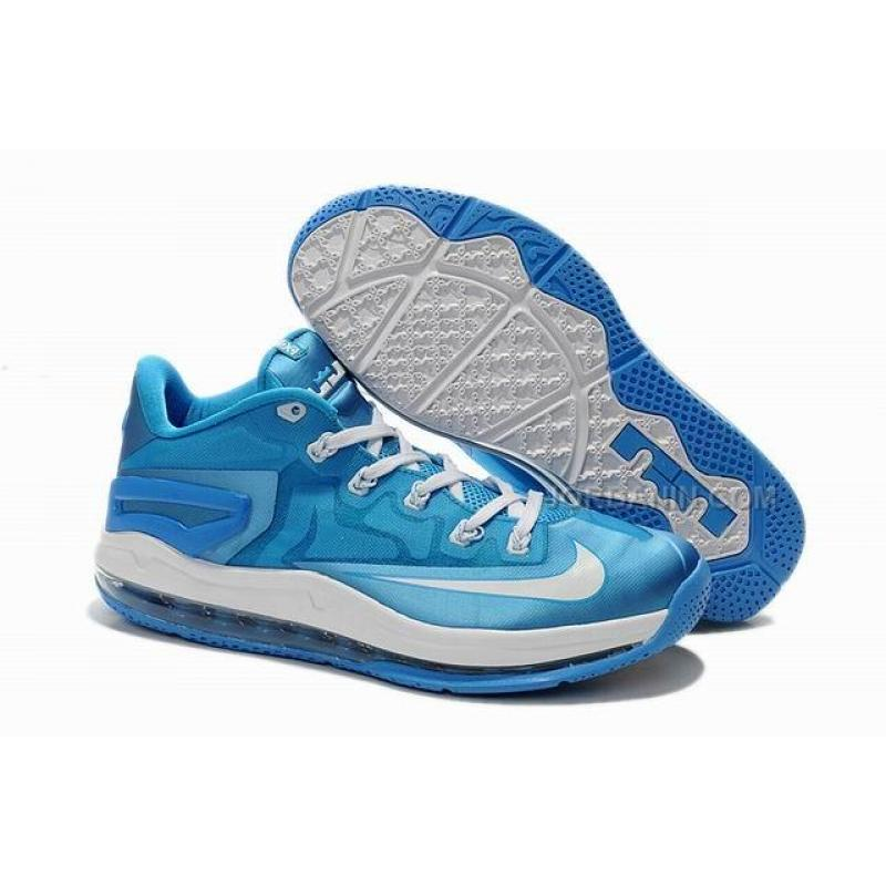 new style 5b8ff 4ce8c Discount Nike LeBron 11 Low Ice Blue