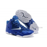 Nike LeBron James 11 Royal Blue/White For Sale Free Shipping