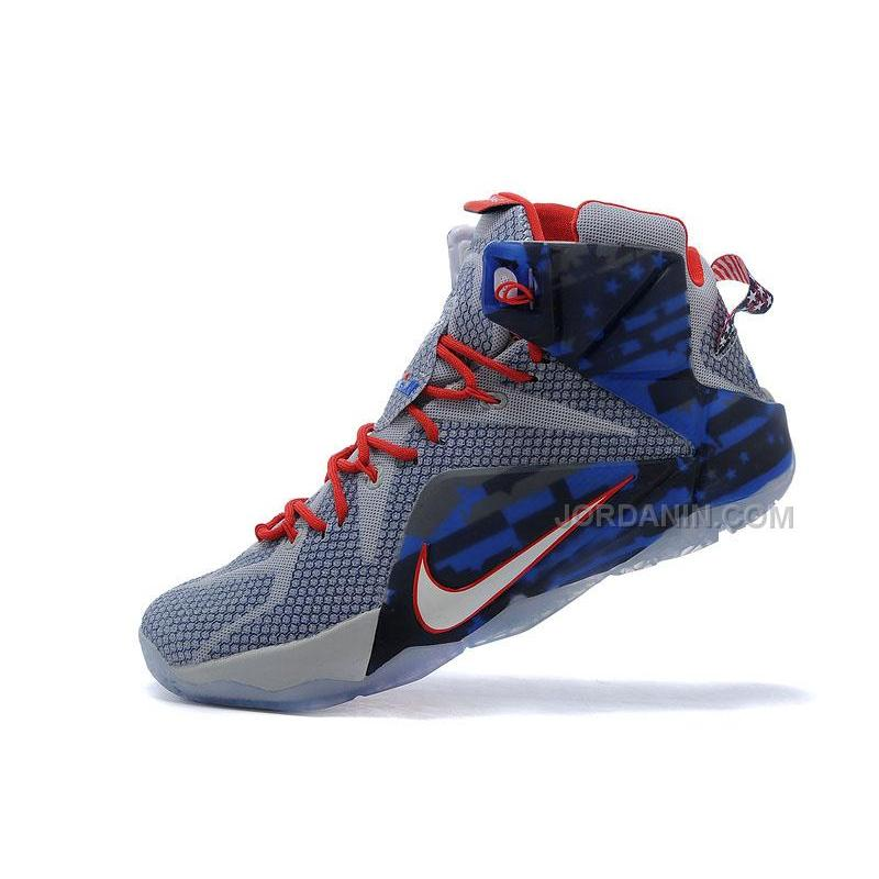 8eb37cf8bb3e7 denmark cheap nike lebron 12 navy blue white red shoes for sale 1 b58e9  e54ae  best price online nike lebron 12 xii independence day 28fa8 e2fea