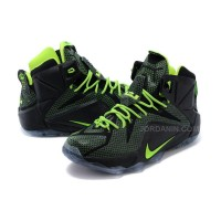 New 2015 Lebron James Shoes Black Green